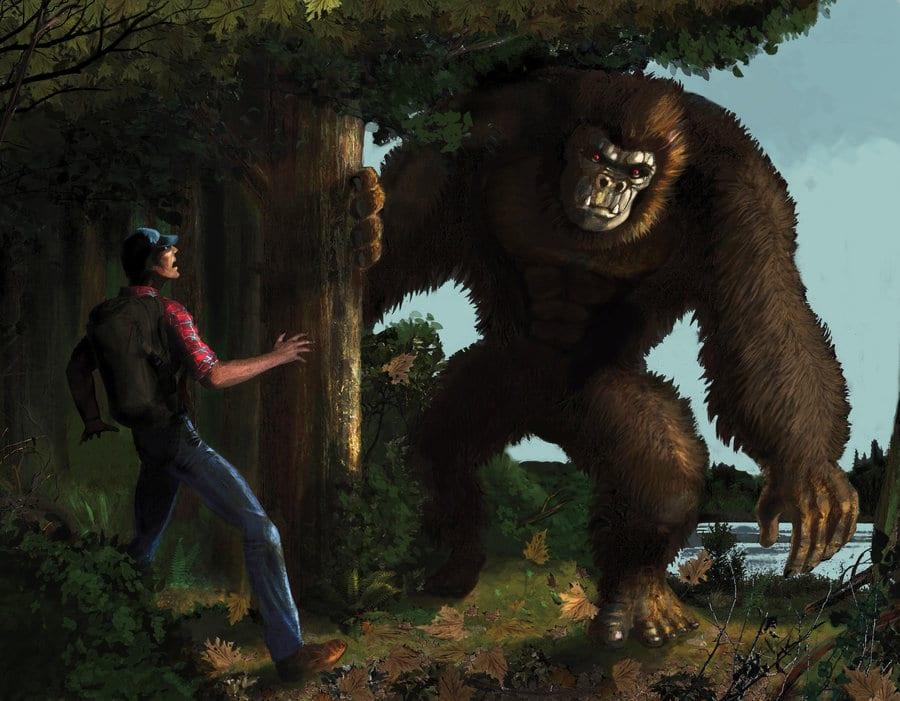 Bigfoot in the U.P.? Trail cam photo spurs debate